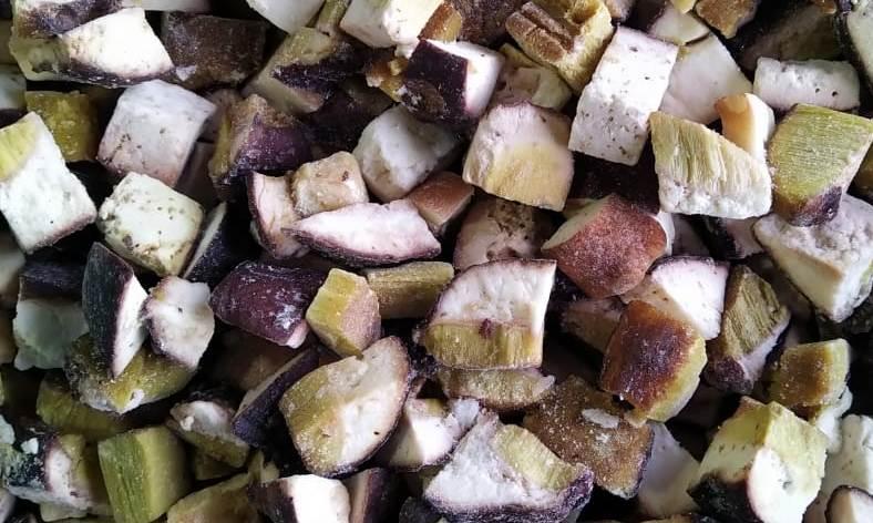Грибы Белый гриб кубик